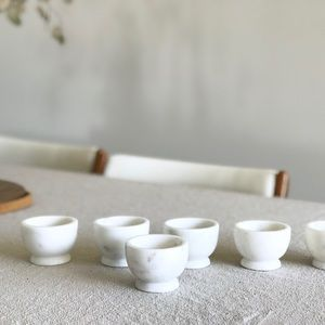 NWOT Marble Pinch Bowls for Spices Salt Cooking